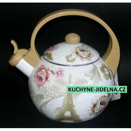 Čajník, čajová konvice Edenberg, smalt, INDUKCE - Paris
