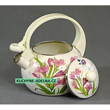 Čajník, čajová konvice Edenberg, smalt, INDUKCE - Frezie