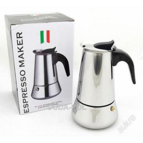 Espresso konvice, italský kávovar 230ml, 4 šálky