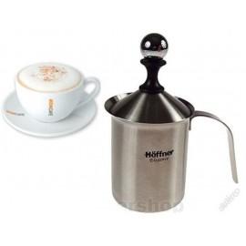 Hoffner Šlehač mléka HF-3351 800ml, nerez