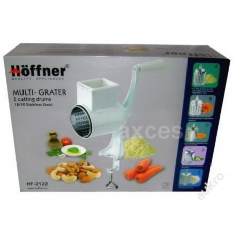 Mlýnek, struhadlo na ořechy, zeleninu, sýr Hoffner HF-2122