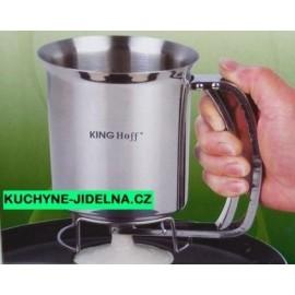 KingHoff Dávkovač na těsto, palačinky KH-4149 - nerez