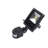 LED Halogen s čidlem 10W, reflektor, LED světlo, SLIM černá