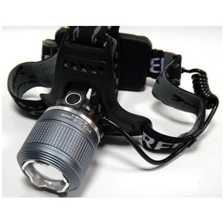 Čelovka s LED + 2x AKU baterie + 2x nabíječka