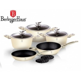 Berlingerhaus Cream Metallic Line BH-1221 10 ks