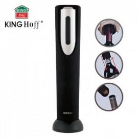 KingHoff Elektrická vývrtka otvírák na víno KH-1150, 4xAA