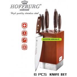 Hoffburg Sada nožů 6 ks HB-3781, nerez