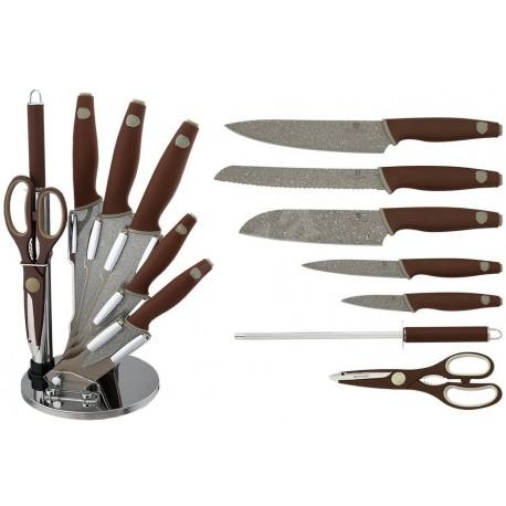 Berlingerhaus Sada kuchyňských nožů 8ks BH-2118, Granit Diamond Line