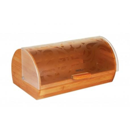 KingHoff Chlebník KH-3615 bambusový korpus, plastové víko