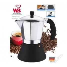 Wellberg Kávovar Italský kávovar WB-6801, indukce
