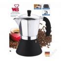 Wellberg Kávovar Italský kávovar WB-6803, indukce