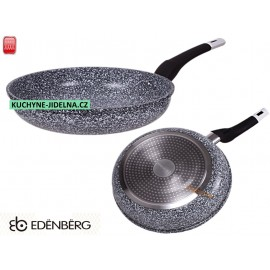 Edenberg Pánev 20cm, mramorový povrch, indukce