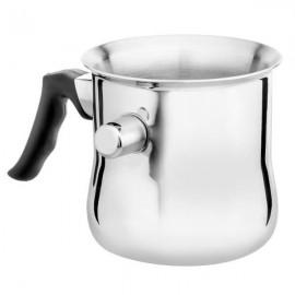 Hoffner Hrnec na mléko 1L, mlékovar, nerez, indukce