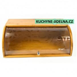 Edel Hoff Chlebník EH-8513 bambusový korpus, plastové víko