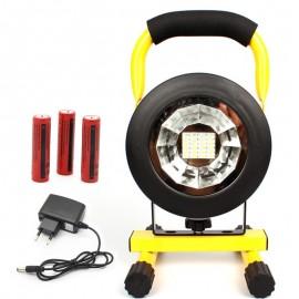 LED Reflektor AKU Halogen 30W SMD, 12V/220V, studená bílá