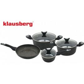 Klausberg SADA HRNCŮ granitových 7 DÍLŮ KB-7030, mramor, indukce