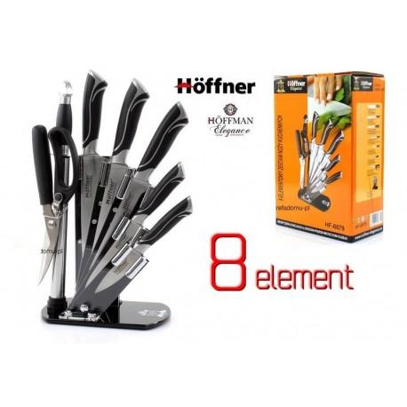 6-ti dílná sada kuchyňských nožů Rossler v bloku s brouskem