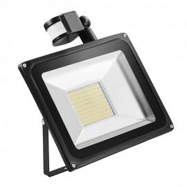 LED REFLEKTOR HALOGEN 100W SMD, 230V, IP66, STUDENÁ BÍLÁ
