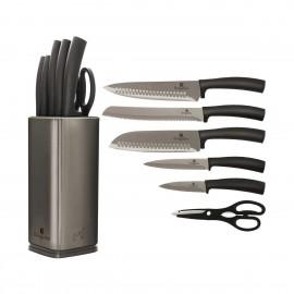 Berlingerhaus Sada nožů Carbon Metallic Line BH-2403, sada 7 ks