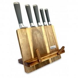 KASSEL Sada nožů v dřevěném bloku KL-93306, 6 ks