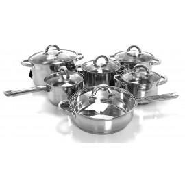 Ronner Austria Sada nádobí nerez 12 ks TW6060, indukce