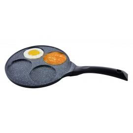 KingHoff Pánev granitová 27 cm KH-1365 na lívance, placky, vejce